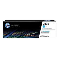 Картридж лазерный HP (CF541X) LaserJet Pro M254/M280/M281, голубой, ресурс 2500 стр., оригинальный
