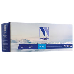Картридж лазерный HP (CF218A) LaserJet Pro M132a/132fn/M104a/104w, ресурс 1400 стр., NV PRINT совместимый