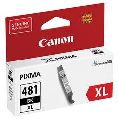 Картридж струйный CANON (CLI-481BK XL) для PIXMA TS704/TS6140, черный, ресурс 3998 страниц, оригинальный