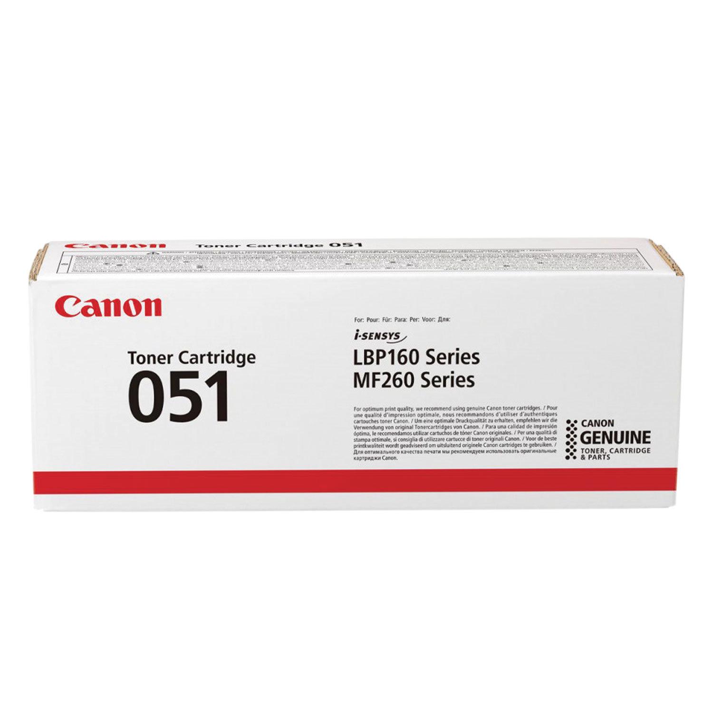 Картридж лазерный CANON (051) i-SENSYS LBP162dw/MF264dw/267dw/269dw, ресурс 1700 страниц, оригинальный