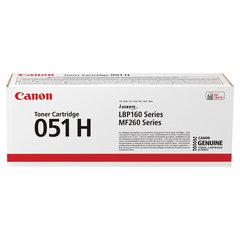 Картридж лазерный CANON (051H) i-SENSYS LBP162dw/MF264dw/267dw/269dw, ресурс 4100 страниц, оригинальный