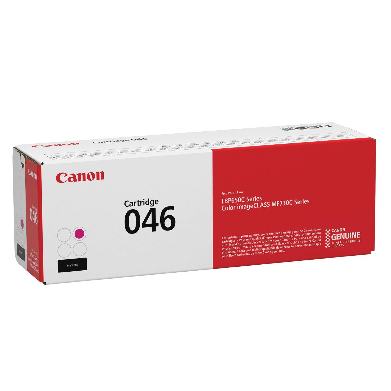 Картридж лазерный CANON (046) i-SENSYS LBP653Cdw/654Cx/MF732Cdw/734Cdw, пурпурный, ресурс 2300 страниц, оригинальный