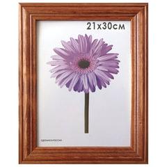 """Рамка премиум 21х30 см, """"Linda"""", дерево, орех (для дипломов, сертификатов, грамот, фотографий)"""