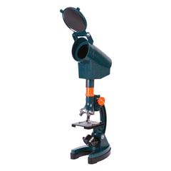 Микроскоп детский LEVENHUK LabZZ M3, 300-1200 кратный, монокулярный, 3 объектива, проектор