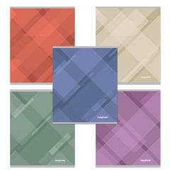 """Тетрадь 48 л., ERICH KRAUSE, клетка, обложка мелованный картон, """"Soft Line"""" (""""Абстракция"""")"""