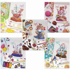 """Тетрадь 48л., HATBER, клетка, обложка мелованный картон, """"Sweet Story"""", 48Т5В1"""