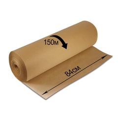 Крафт-бумага в рулоне, 840 мм х 150 м, плотность 78 г/м2, BRAUBERG