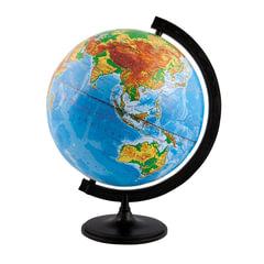 Глобус физический, диаметр 320 мм (Россия)