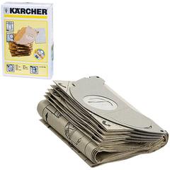 Пылесборники KARCHER, комплект 5 шт., бумажные, +1 микрофильтр, для пылесоса SE 5.100/3001