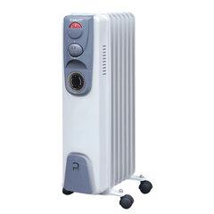 Обогреватель масляный SCARLETT SC-058, 1500 Вт, 7 секций, таймер, белый
