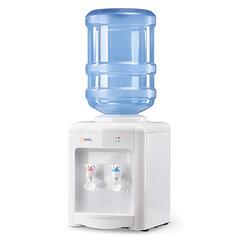 Кулер для воды AEL TD-AEL-340, настольный, НАГРЕВ/ОХЛАЖДЕНИЕ ЭЛЕКТРОННОЕ, 2 крана, белый, 00134