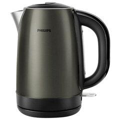 Чайник PHILIPS HD9323/80, закрытый нагревательный элемент, объем 1,7 л, мощность 2200 Вт, сталь, титановый