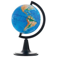 Глобус физический, диаметр 120 мм (Россия)