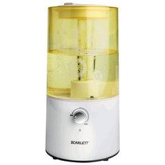 Увлажнитель SCARLETT SC-AH986M01, объем бака 2,5 л, мощность 25 Вт, желтый с белым
