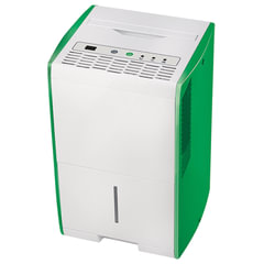 Осушитель воздуха BALLU BDH-15L, дисплей, мощность 210 Вт, бак 2 л, площадь помещения 18 м2, белый/зеленый