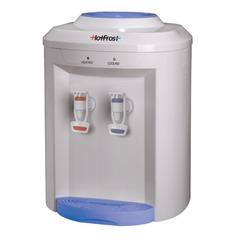 Кулер для воды HOT FROST D75E, настольный, нагрев/охлаждение, 2 крана, белый/голубой