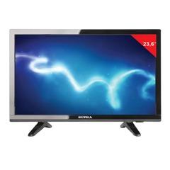 "Телевизор LED 23,6"" SUPRA STV-LC24T660WL,1366х768, HD Ready, 16:9, 50 Гц, HDMI, USB, черный, 5,4 кг"