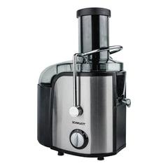 Соковыжималка SCARLETT SC-JE50S17, стакан 1 л, емкость для жмыха 1,5 л, мощность 1000 Вт, пластик/нержавеющая сталь