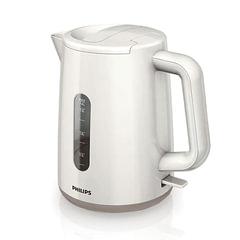 Чайник PHILIPS HD9300/00, закрытый нагревательный элемент, объем 1,6 л, мощность 2400 Вт, пластик, белый