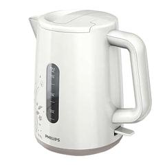 Чайник PHILIPS HD9310/14, закрытый нагревательный элемент, объем 1,6 л, мощность 2400 Вт, пластик, белый/бежевый