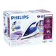 Парогенератор PHILIPS GC7619/25, 2400 Вт, 5 Бар, пар 110 г/мин., паровой удар 200 г/мин., 1,5 л, синий