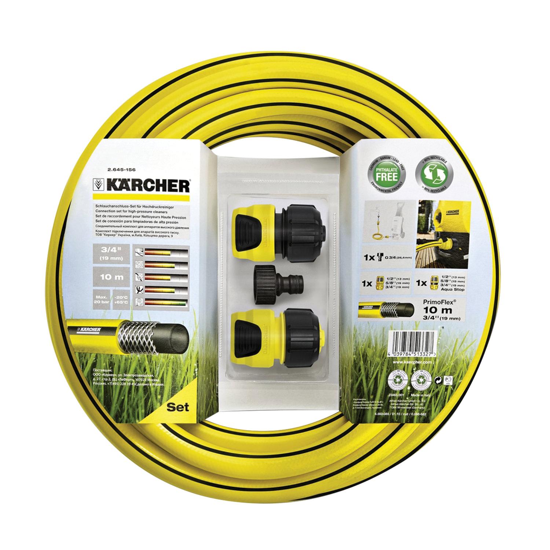 Комплект подключения KARCHER (КЕРХЕР) со шлангом PrimoFlex 3/4, 10 м, 2.645-156.0