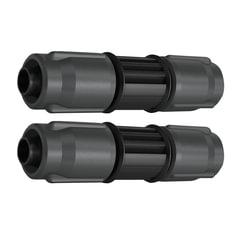 Коннекторы (соединители) KARCHER (КЕРХЕР), двухсторонние, для системных и сочащихся шлангов, пластик, 2 шт., 2.645-232.0