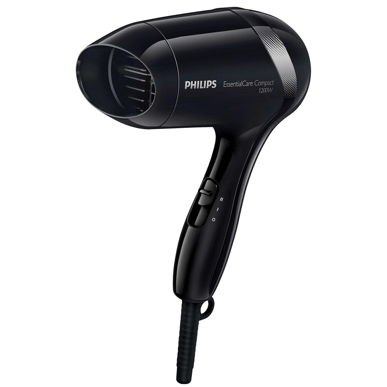 Фен PHILIPS BHD001/00, 1200 Вт, 2 скоростных режима, черный