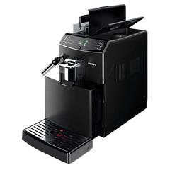 Кофемашина PHILIPS HD8842/09, 1850 Вт, объем 1,8 л, емкость для зерен 250 г, ручной капучинатор, черная