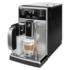 Кофемашина PHILIPS SAECO HD8928/09, 1,8 л, 1850 Вт, 15 бар, емкость для зерен 250 г, авто капучинатор, серебристая