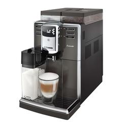 Кофемашина PHILIPS SAECO HD8919/59, 1850 Вт, объем 2,5 л, емкость для зерен 500 г, авто капучинатор, черная