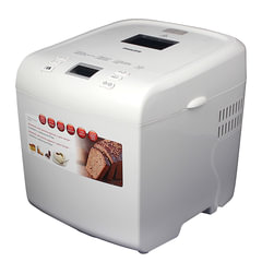 Хлебопечка PHILIPS HD9016/30, 550 Вт, вес выпечки 1 кг, 12 программ, приготовление йогурта, пластик, белая