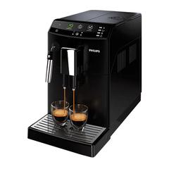 Кофемашина PHILIPS HD8822/09, 1800 Вт, объем 1,8 л, емкость для зерен 250 г, капучинатор, черная