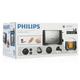 Тостер PHILIPS HD4825/90, 800 Вт, 2 тоста, механическое управление, разморозка, подогрев, металл