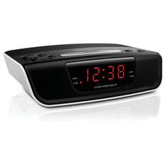 Часы-радиобудильник PHILIPS AJ3123/12, ЖК-дисплей, FM-дисплей, 2 сигнала, черный