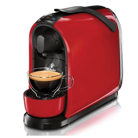 Кофемашина капсульная TCHIBO Cafissimo PURE Red, мощность 950 Вт, объем 1,1 л, красная