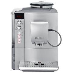 Кофемашина BOSCH TES51521RW, 1600 Вт, объем 1,7 л, емкость для зерен 300 г, автоматический капучинатор, серая