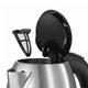 Чайник BOSCH TWK7801, 1,7 л, 2200 Вт, закрытый нагревательный элемент, нержавеющая сталь, серебристый