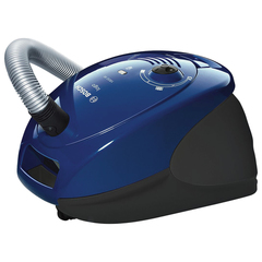Пылесос BOSCH BSG61800RU, с пылесборником, 1800 Вт, мощность всасывания 300 Вт, синий