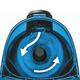 """Пылесос BOSCH BGC1U1550, с контейнером """"циклон"""", 1700 Вт, мощность всасывания 280 Вт, голубой"""