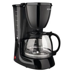 Кофеварка капельная SCARLETT SC-CM33007, 750 Вт, 1,25 л, антикапля, подогрев, пластик, черная