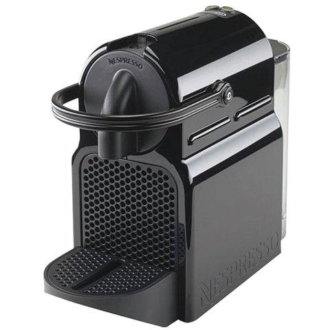 Кофемашина капсульная DELONGHI Nespresso EN 80.B, 1260 Вт, объем 0,8 л, черная + капсулы на 16 чашек