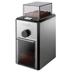 Кофемолка DELONGHI KG 89, 110 Вт, объем 120 г, 12 степеней помола, корпус из нержавеющей стали