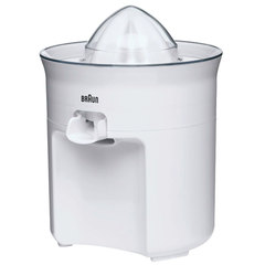 Соковыжималка BRAUN CJ3050WH для цитрусовых, 60 Вт, пластик, белая