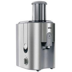 Соковыжималка BRAUN J700, 1000 Вт, 1,25 л, емкость для жмыха 2 л, пластик/нержавеющая сталь, серебристая