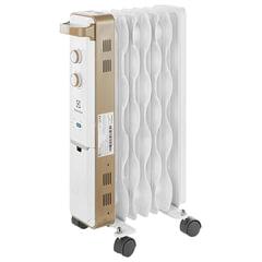 Обогреватель масляный ELECTROLUX EOH/M-9157, 1500 Вт, 7 секций, белый/золотистый