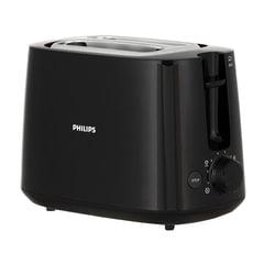 Тостер PHILIPS HD2581/90, 830 Вт, 2 тоста, 8 режимов, подогрев, разморозка, пластик, черный