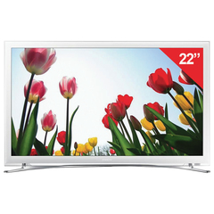 "Телевизор SAMSUNG 22"" (55,9 см) UE22H5610, LED, 1920x1080, FullHD, Smart TV, Wi-Fi, 100 Гц, HDMI, USB, белый, 3,6 кг"