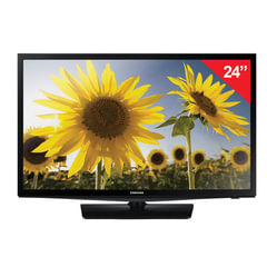 "Телевизор SAMSUNG 24"" (61 см), UE24H4070, LED, 1366x768, HD, 16:9, 100 Гц, HDMI, USB, черный, 4,1 кг"