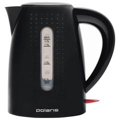 Чайник POLARIS PWK 1746C, 1,7 л, 2200 Вт, закрытый нагревательный элемент, пластик, черный